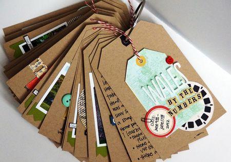 Tag mini album by emily pitts via writeclickscrapbook for Ideas for mini vacations