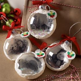 Decoupage , DIY Holiday Ornaments with Mod Podge Photo
