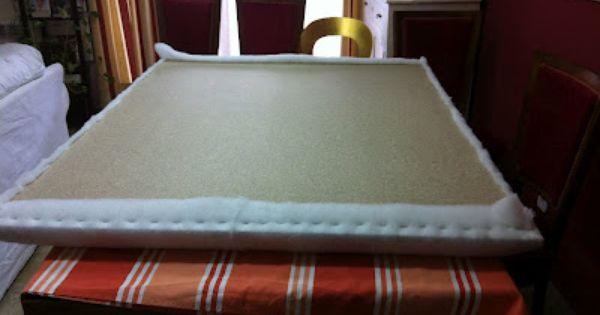 Como hacer una cabecera para tu cama do it your for Como hacer una cabecera de cama