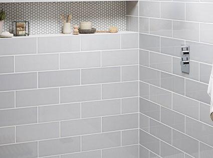 Topps Tiles Attingham Mist Tile Bathroom Pinterest