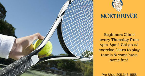 Always Wanted To Learn To Play Tennis Now Is The Time To Join Us At Northriver Tennis Learn The Basic Strokes Learn To Keep Scor Tennis Play Tennis