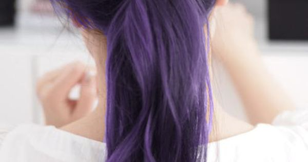 Love dark purple Hair Style girl hairstyle| http://hairstylenakia.blogspot.com
