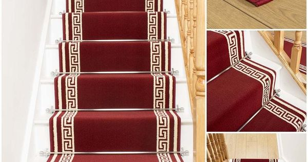 Key Red Stair Carpet Runner For Narrow Staircase Modern Quality Cheap New Stair Makeover Carpet Stairs Stair Runner