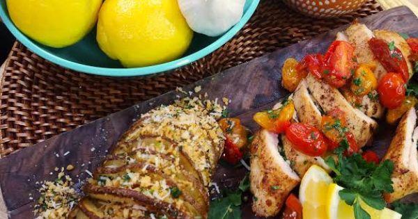 Cristina cooks #hearthealthy #Spinach and #Ricotta #Stuffed #Chicken ...