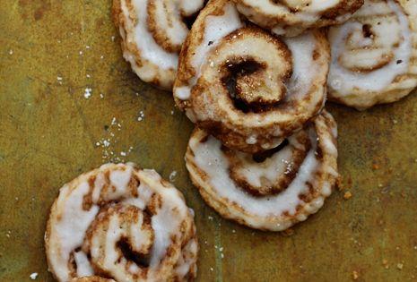 Cinnamon Roll Cookies | food | cooking | Ingredients: 2 cups of
