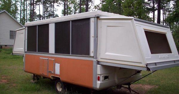1976 Apache Ramada Hardside Pop Up Camper Pop Up Camper Camper Makeover Camper