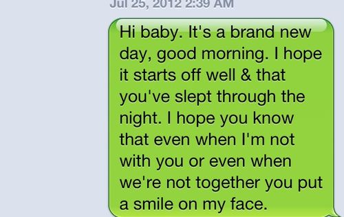 Good morning texts to send to your girlfriend