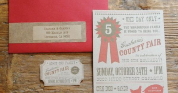 ... little ticket | Leah's Farm Party | Pinterest | Ticket and Desserts