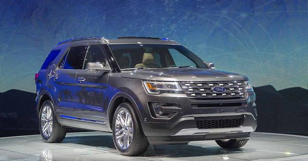 2017 ford explorer price and release date. Black Bedroom Furniture Sets. Home Design Ideas