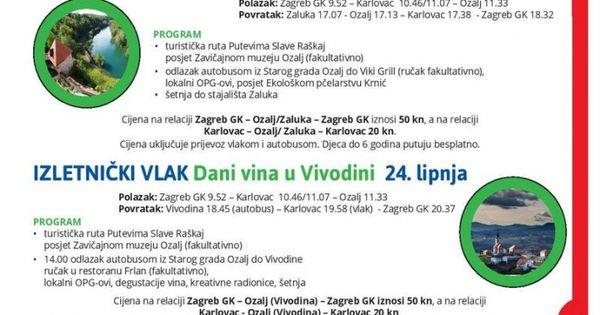 Objavljen Novi Vozni Red Hz A Provjerite I Koje Popuste Mozete Ostvariti