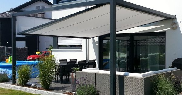 sonnensegel sonnenschutz f r die terrasse pinterest tr dg rdsid er uterum och hus. Black Bedroom Furniture Sets. Home Design Ideas