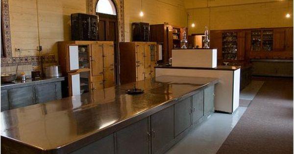 Prep Table Hearst Castle Kitchen Hearst Castle Vintage