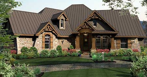 Plan 16851wg rugged craftsman dream home plan house for One story retirement house plans
