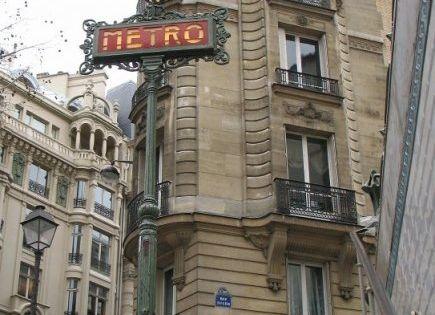 Metro st michel paris bonjour paris pinterest paris - Metro saint michel paris ...