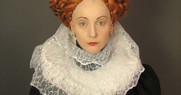 Queen Hairstyles: 1550 - 1600 Queen Elizabeth Period