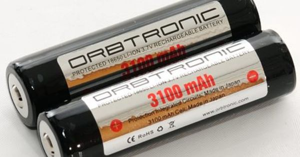 Pin On 18650 Li Ion Batteries Usa Market Orbtronic Panasonic
