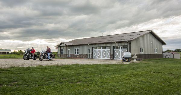 Morton buildings custom home in lenox iowa homes for Morton building cabin