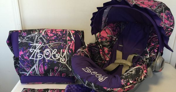 5 Piece Set Moonshine Muddy Girl Camo Fabric Amp Purple