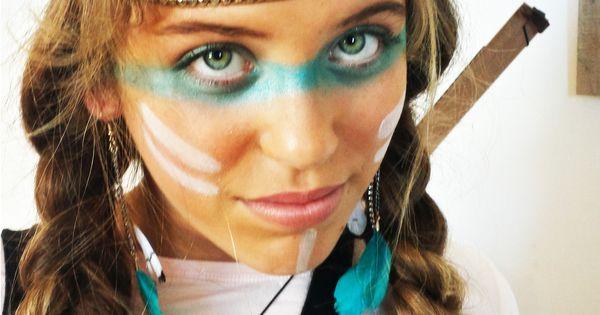 Maquillage fille indienne - foncez le teint avec une poudre bronzante ...