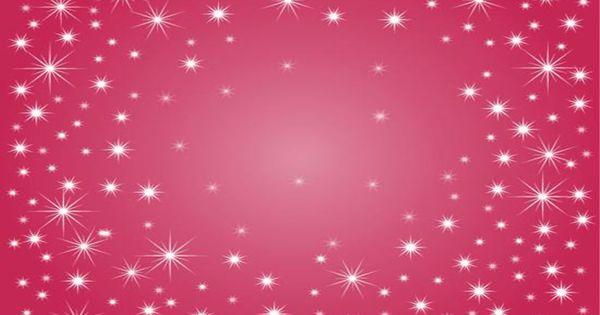 glitter animated star background