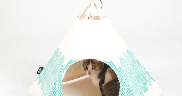 tipi pour chat id e diy pinterest tipi cat and dog. Black Bedroom Furniture Sets. Home Design Ideas