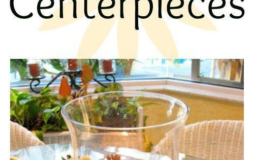 Décorations de table, Centres de table and Automne on Pinterest