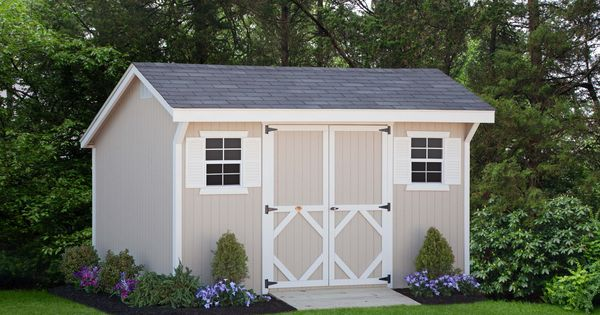 Diy Storage Shed Panelized Walls Makes For An Easy Weekend Project Wood Saltbox Storage Shed Shed Kit T Diy Shed Plans Shed Landscaping Diy Storage Shed