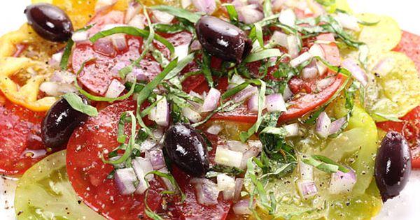 Heirloom Tomato Salad Recipe - ZipList