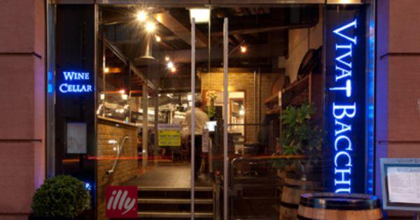 Farringdon Restaurant Vivat Bacchus Wine Cellar London