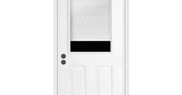 Home Depot- JELD-WEN, Premium 1/2 Lite Tilt