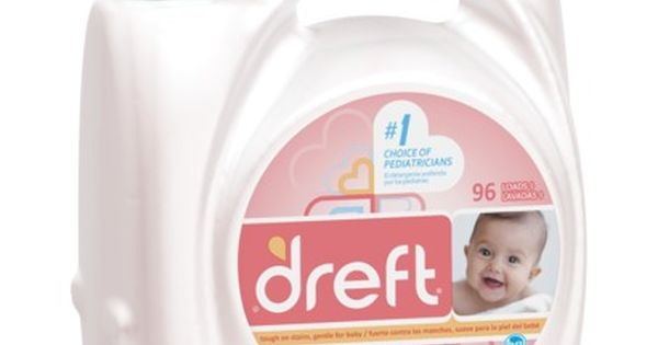 Dreft Stage 1 Newborn Hec Liquid Detergent 150oz Baby Laundry