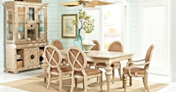 Cindy Crawford Home Key West Light Leg Table Formal Dining Room Sets Rooms To Go Furniture Dining Room Suites