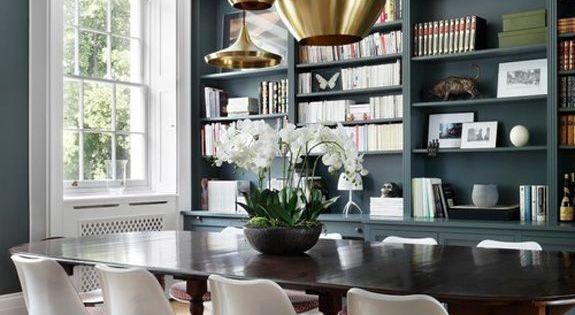 Victorian Mola Bedroom Set : desiretoinspire.net) Dining Rooms, Tulip Chair and Room Lights