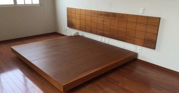 Cabecera y base de cama de nogal king size respaldar - Cuadros cabecera cama ...