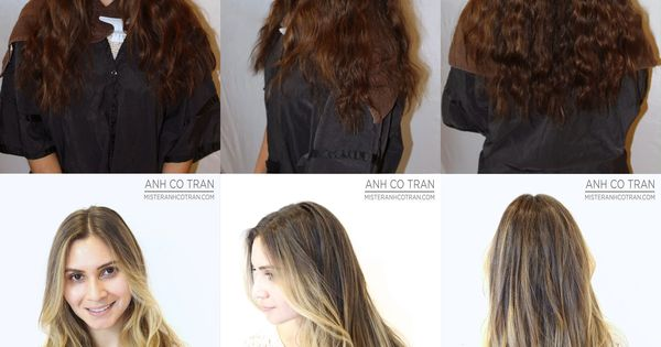 Mister anhcotran ramirez tran can transform your hair in for 3 brunettes and a blonde salon