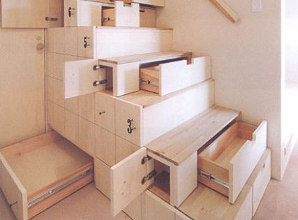 Cool idea for basement stairs
