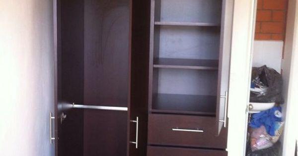 Closet peque o ideas recamara dormitorio pinterest for Closet blanco pequeno