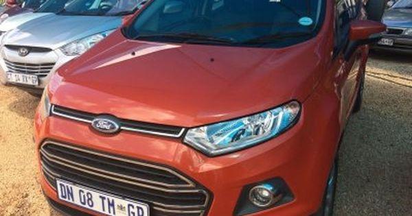 2015 Ford Ecosport 1 5td Titanium Gauteng Centurion 0 Ford