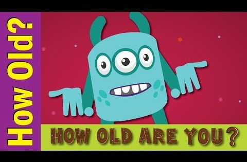How Old Are You Song Kids Esl Songs Fun Kids English Youtube Ingles