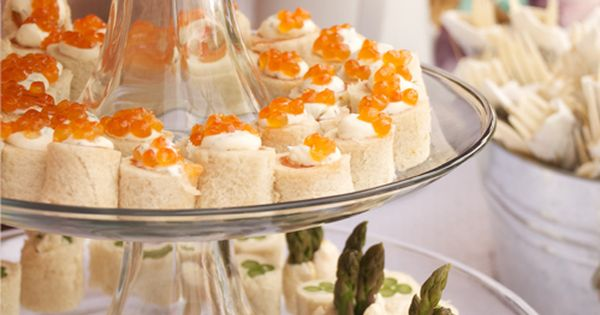 Tea Sandwiches: Curried Chicken Salad, Smoked Salmon with Dill Creme ...