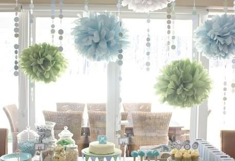 Baby Boy Shower Blue Decorations Decor baby baby baby