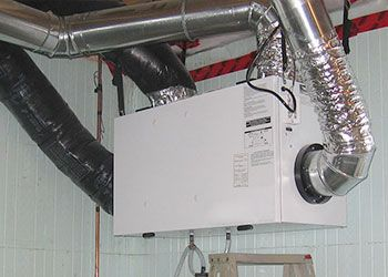 Air Exchanger Heat Recovery Ventilator Cleaning Dr Duct Air Exchanger Duct Potential Energy