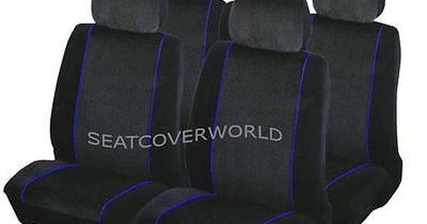 Chevrolet Blu Trim Car Seat Covers Full Set Matiz
