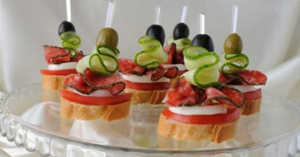 Kanapei google search canape pinterest google for Christmas canape ideas