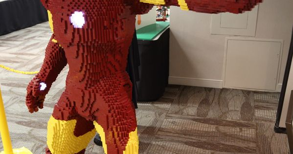 Iron Man LEGO Build Is An Epic Life-Size Brick Marvel super hero
