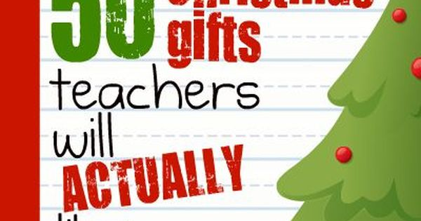 50 christmas gifts for teachers (that they will actually like). As a