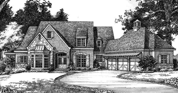 Eplans French Country House Plan Bella Maison From The