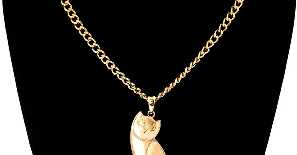 ovo owl inspired necklace size 24 1 inches 2 25