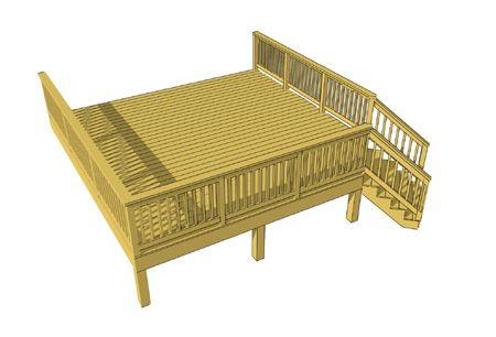 Decks Com Free Deck Plans Deck Plans Diy Deck Design Diy Deck