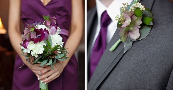 Avondale Chapel | Wedding Photographer | Bentonville Arkansas | Purple Wedding | Purple Bouquet | Hydrangea bouquet | Tulip bouquet | Unique boutonniere
